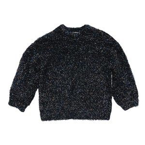 Zara Fancy Collection Fluffy Knit Confetti Sweater
